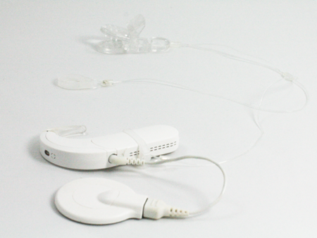 "CLIP-ON ""INVISIBLE"" HOOKS FOR PROCESSORS / HEARING AIDS - TRANSPARENT"
