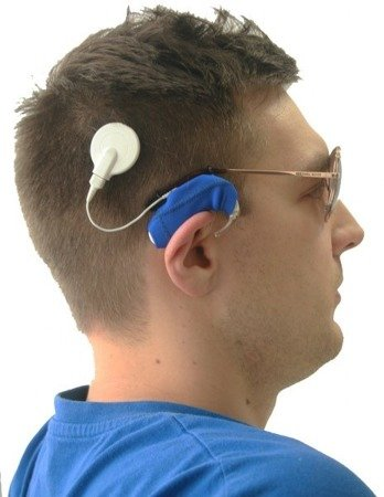 Ear Gear Cochlear Eyeglasses - cordless covers for two processors