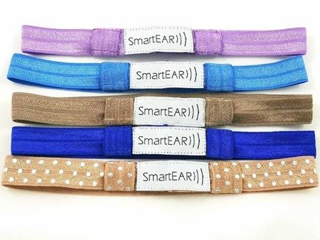 EasyFlex bands for hearing aids and/or speech processors - lavender