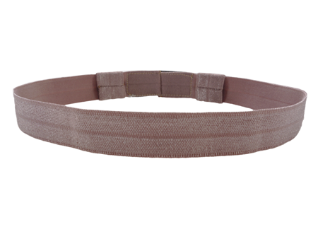EasyFlex bands for hearing aids and/or speech processors - light brown