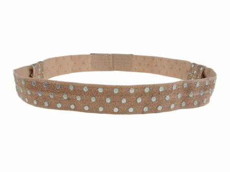 EasyFlex bands for hearing aids and/or speech processors - light brown dots