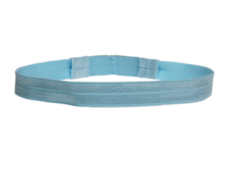 EasyFlex bands for hearing aids and/or speech processors - sky blue