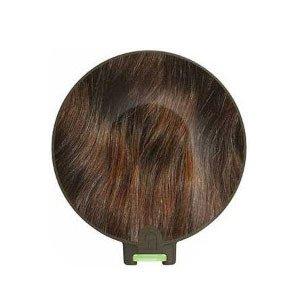 Original MED-EL DL coil cover - Hair - Dark Brown