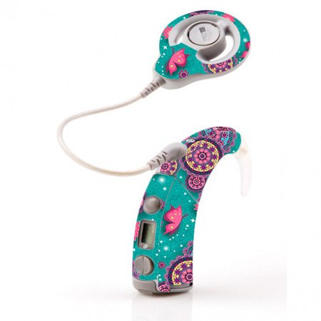 SKIN FOR COCHLEAR FREEDOM - BUTTERFLY