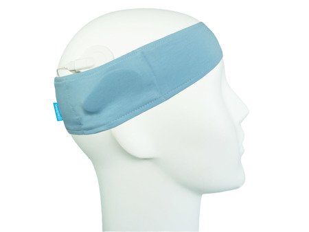 Sport headband for sound processors - blue