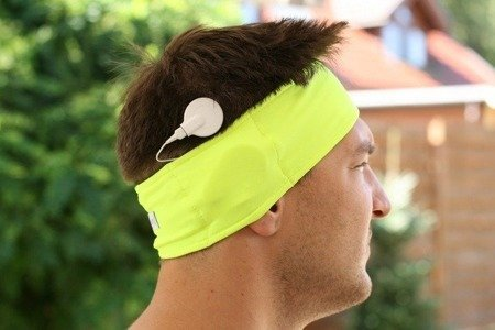 Sport headband for sound processors  - pink