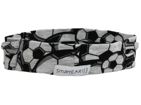 Universal cotton headband - football