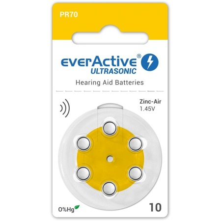 Batterien everActive ULTRASONIC 10 - blister (6 Stück)